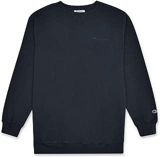 Mens Big and Tall Vintage Wash Pullover Crewneck Sweatshirt
