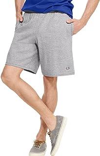 Champion Authentic Cotton 9 inch Men's Shorts Pockets - grey - Medium