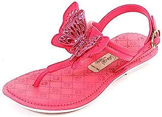 [Grendha] Kids Sense Sandal Butterfly Girls Flip Flops [並行輸入品]
