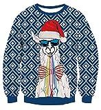 Alpaka mit Sonnenbrille Weihnachtspulli