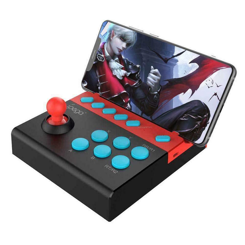 Arcade Fighting Stick, Joystick Fightstick, Bluetooth inalámbrico Controlador Joystick Mando para Juegos de Lucha para iOS Android Teléfono móvil, iPhone, iPad, Tableta, Smart TV: Amazon.es: Electrónica
