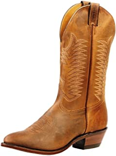 American Boots - Cowboy Boots: Country Boots BO-4227-72-EEE (Strong Foot) - Men - Brown