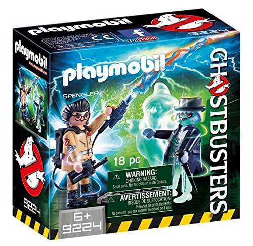 CAZAFANTASMAS Spengler and Ghost Playset...