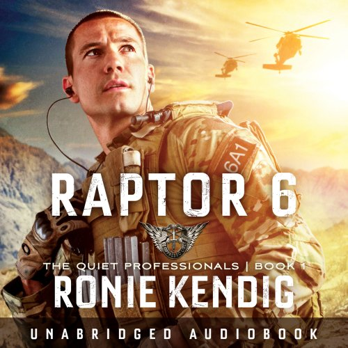 Raptor 6 audiobook cover art