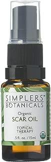 Living Flower Essences Simplers Botanicals Scar Oil, 0.5 Fluid Ounce