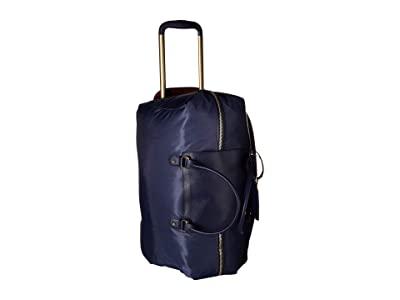 Lipault Paris Plume Avenue Wheeled Duffel Bag (Night Blue) Bags