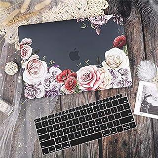 """حقائب وأغطية لابتوب S-- حافظة رخامي/زهور/ لامعة لجهاز MacBook Pro 13 15""""4"""" Touch Bar 2019 2020 A1706 A2159 Air Retina 11 1..."""