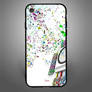 iPhone 7/8 Case Cover in Bass Tones, Zoot Printed Hard Back Cover TPU Trendy Modern Design Print with Quality Paint Color ...