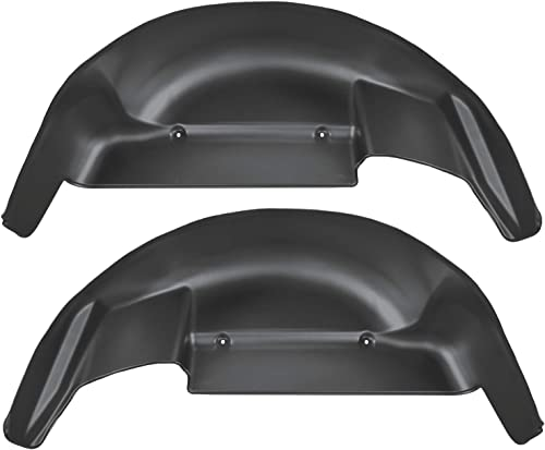 Husky Liners Fits 2006-14 Ford F-150 Rear Wheel Well Guards,Black,79101