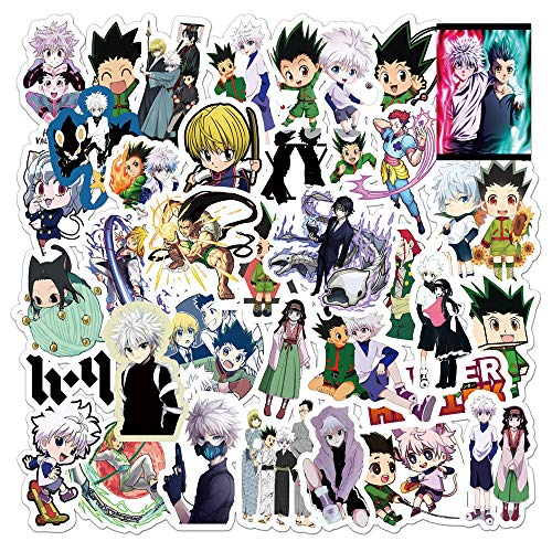 DSSK Anime Full-Time Hunter Graffiti Stickers Suitcase Laptop Scooter Mobile Phone PVC Waterproof Stickers 50Pcs
