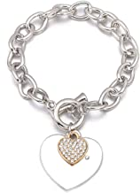 Ablaze Jin Rose Gold love bracelets Diamond bracelet simple Personality creative wristband