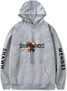 WAWNI Shawn Mendes Sudadera con capucha y estampado fresco para hombres y mujeres ropa de calle
