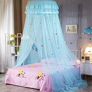 キャンプスクリーンの家のドームの蚊帳のベッド、ポリエステルメーターの簡単なインストールベッドキャノピーダブルとシングルベッド、ベビーベッド、プリンセス蚊帳、紫、120 cmベッド