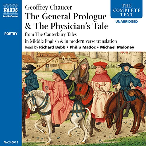 The General Prologue and The Physician's Tale audiobook cover art