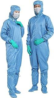 POQOQ Non-Disposable Protective Clothing Anti-Dust Non-Porou Isolation Clothing