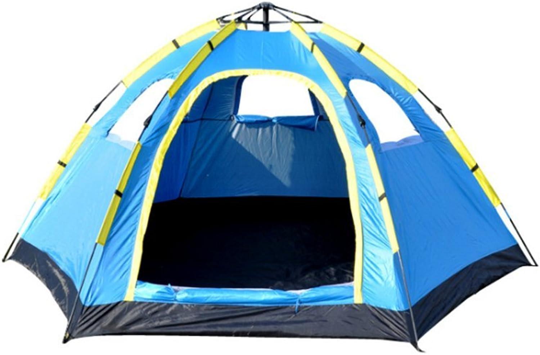 Campingzelt 5-8 Personen Automatische Hexagon Single Layer Schnell Sofortige Offene Wasserdichte Outdoor Zelte B07C3Y1QJK  Guter weltweiter Ruf