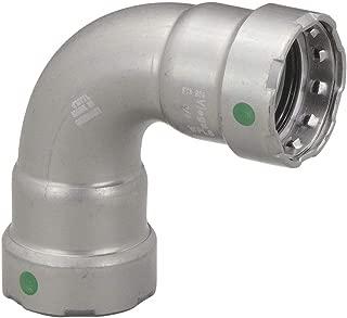 VIEGA MEGAPRESS Carbon Steel 90 Degree Elbow, Press x Press Connection Type, 1