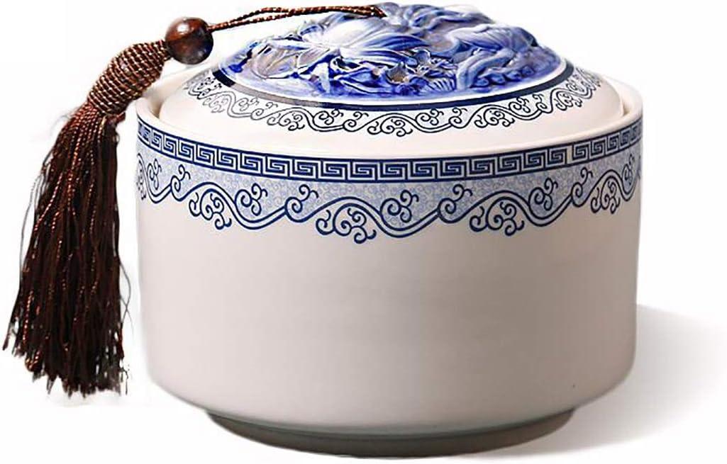 Complete Free Shipping LANLANLife Hollow Outlet sale feature Ceramic Tea Pots-Su Food Pots Storage