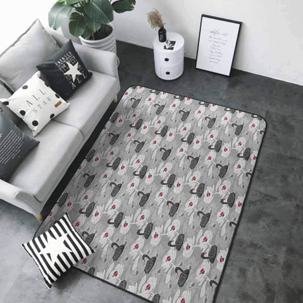 Anti Slip House Kitchen Door Area Pond Rug Today's only with Quality inspection Swan Bi Artistic