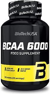 BCAA + Vitamina B6 100 Comprimidos | Aminoácidos