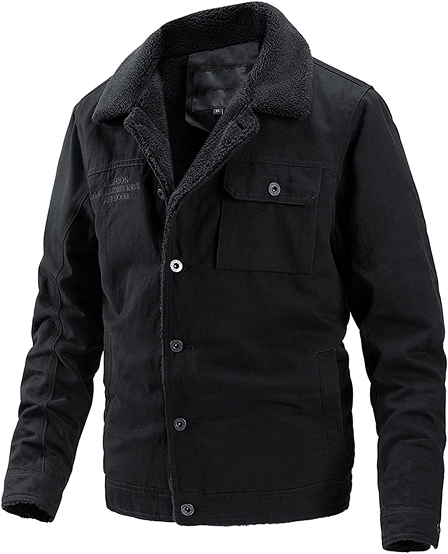 Kuokuo High material Men's Retro Workwear Sherpa Winter Al sold out. Warm Jackets Bu Fleece
