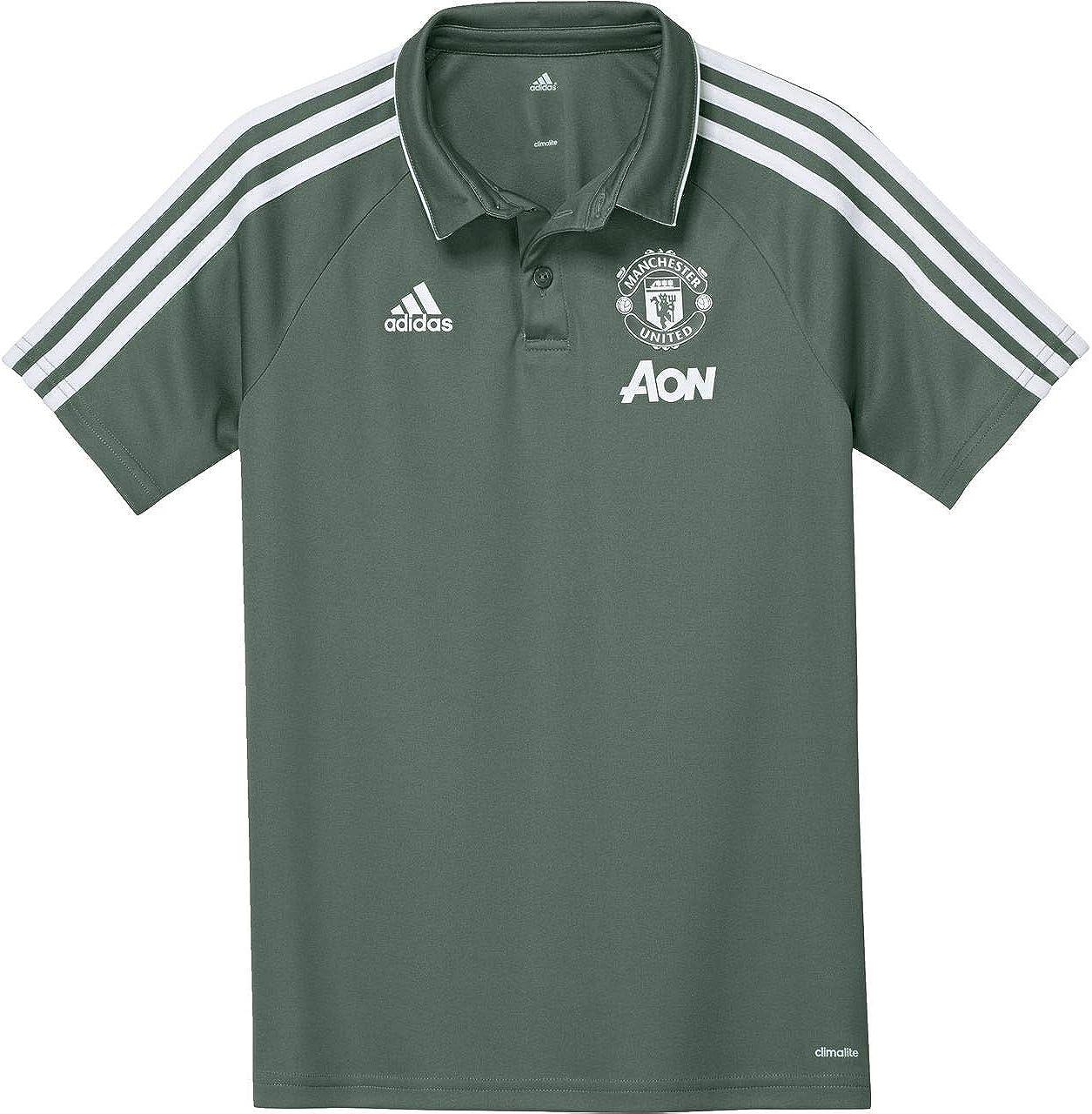 Adidas Children S Manchester United Polo Shirt Amazon Co Uk Clothing