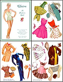 Beautiful Clair Paper Doll, prod. #0174