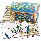 Búsqueda del tesoro en forma de investigación policíaca – para niño 5-7 años - para fiestas de cumpleaños – juegos para niños