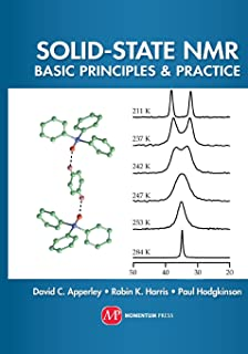 Solid State NMR: Basic Principles & Practice Solid State NMR David C. Apperley, Robin. K. Harris, and Paul Hodgkinson In Stock Date: 05/12/2012 Print ... Binding Type: Hardcover E-book Price: $92.
