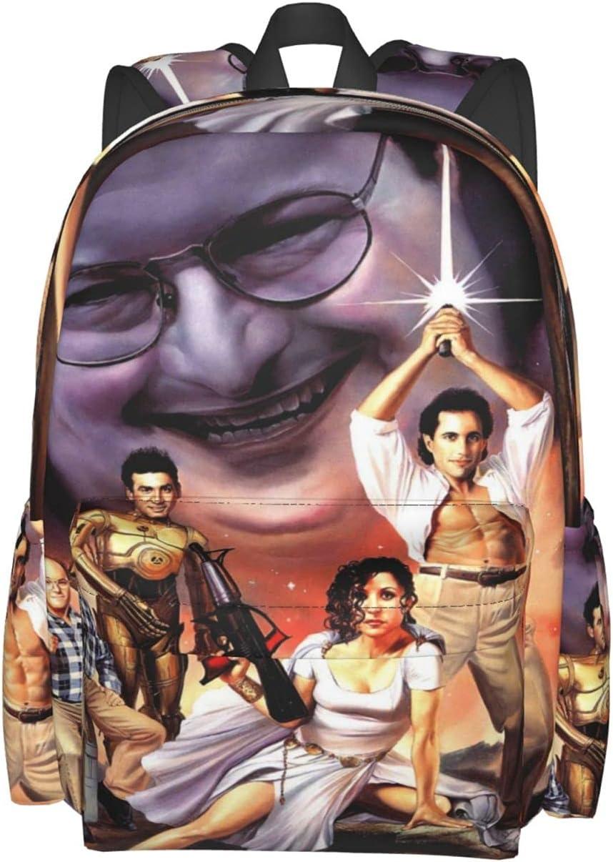 Unisex Lovely Lightweight Laptop free shipping Bag Bookbag Rucksack Max 66% OFF Seinfeld P