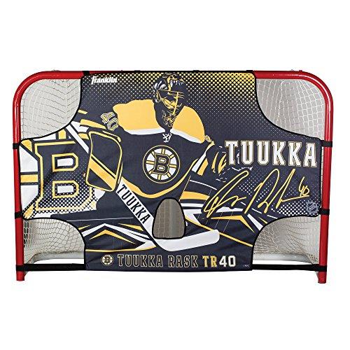 Franklin Sports Tuukka RASK Tuukka Rask - Tuukka Tutor Hockey Shooting Target - Shooter Tutor Fits 72' Goal - NHL Official Licensed Product