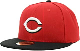 New Era Cincinnati Reds Road MLB Authentic Collection 59FIFTY Cap