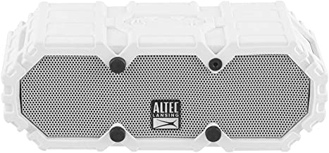 Altec Lansing IMW478s Mini LifeJacket-3 Bluetooth Speaker Waterproof, White