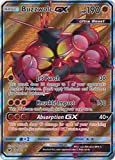 Pokemon Buzzwole-GX - 104/111 - Full Art Ultra Rare - Sun & Moon: Crimson Invasion