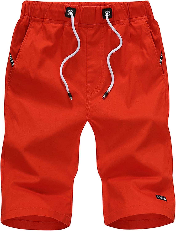 raillery Mens Summer Casual Sports Waist Shorts Loose Elastic Dr Regular Arlington Mall store