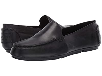 Sperry Bay View Slip-On Leather (Black) Women