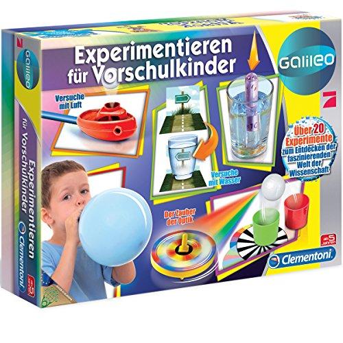 Experimentieren für Vorschulkinder - Galileo ab 5 Jahren - Vorschule Kinder Jungen Mädchen Experimentierset...