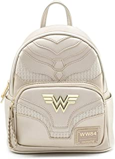 x DC Comics Wonder Woman Metallic Cosplay Mini Backpack