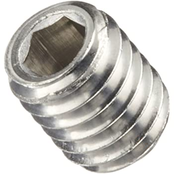 Internal Hex Drive Pack of 10 M3-0.5 Metric Coarse Threads Button Head 18-8 Stainless Steel Socket Cap Screw Plain Finish Vented 16mm Length Fully Threaded Small Parts