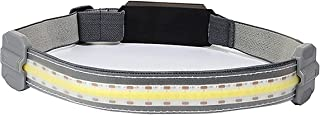 Iksvmsis Lampe Frontale LED Rechargeable,Lampe Frontale Rechargeable Pêche Chasse Lumière Douce 3 Modes d'Eclairage,Lampe ...