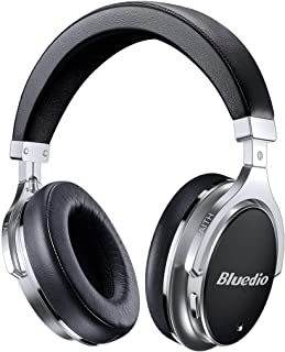 Bluedio F2 Bluetooth Headphones Active Noise Cancelling with Mic , Over Ear Wired and Wireless Headsets with Powerful Bass...