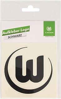 VfL Wolfsburg Aufkleber Logo Schwarz
