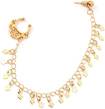 Best fake nose ring chain to earring Reviews