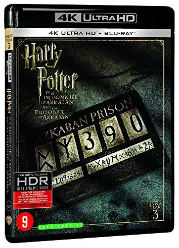 Harry Potter et le prisonnier d'Azkaban - Année 3 - Le monde des Sorciers de J.K. Rowling - 4K Ultra HD [4K Ultra HD + Blu-ray + Digital UltraViolet]