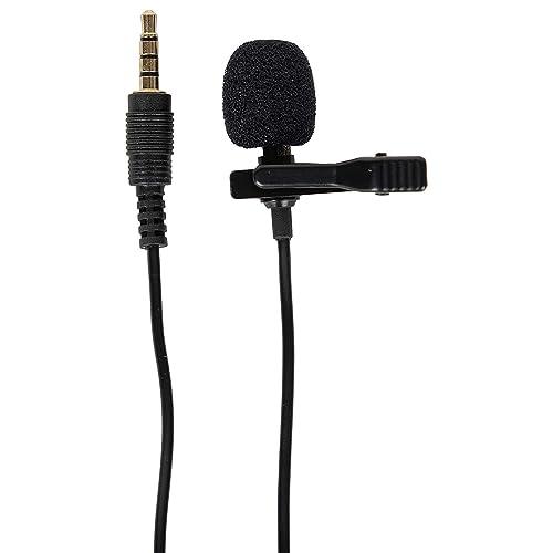 3577ca5d8c3 MODIK Genuine Original 3.5mm Clip-on Mini Lapel Lavalier Microphone for  Android/iOS