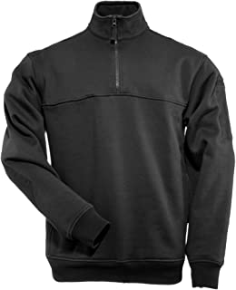 5.11 1/4 Zip Job Shirt Pullover for Emergency Services Professionals EMS EMT with Chest Break-Through Pocket, Style 72314