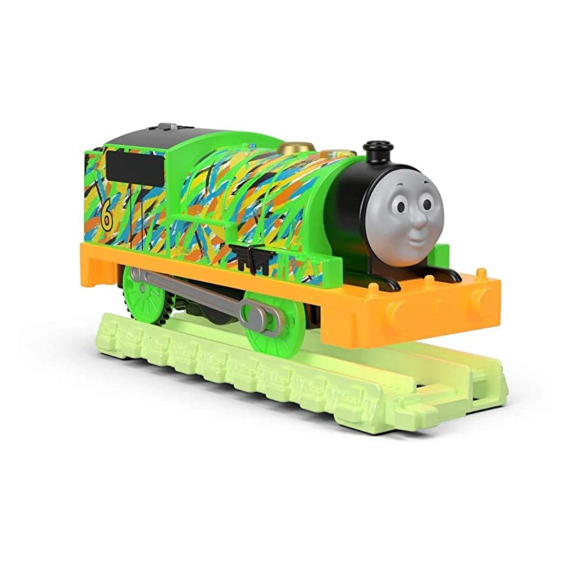 Thomas and Friends Trackmaster, Motorized Hyper Glow Percy