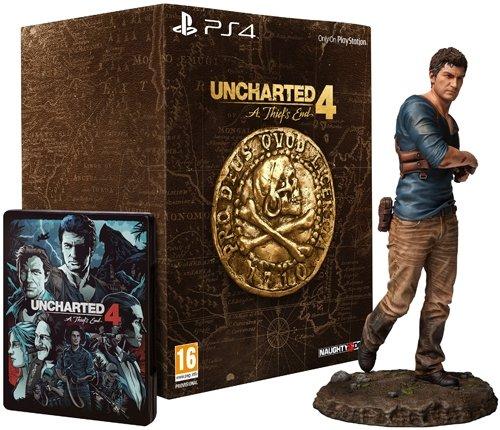 Uncharted 4: A Thief's End - édition collector [import anglais] (jeu en francais)