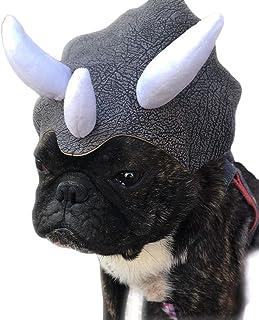 Licogel Decorative Universal Festive Adjustable Elastic Band Cute Adorable Dog Headgear Funny Plush Festive Universal Dino...