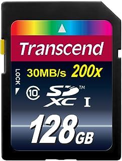 旧モデル Transcend SDXCカード 128GB Class10 TS128GSDXC10